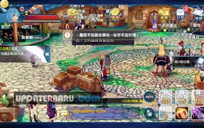 Aura Kingdom Mobile 幻想神域 啟源女神 Apk MMORPG v2.2 Android MOD
