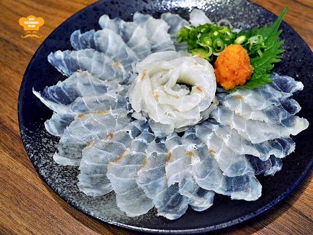 Tansen Izakaya 炭鲜居酒屋 Menu - GROUPER NABE SET - Sashimi Style