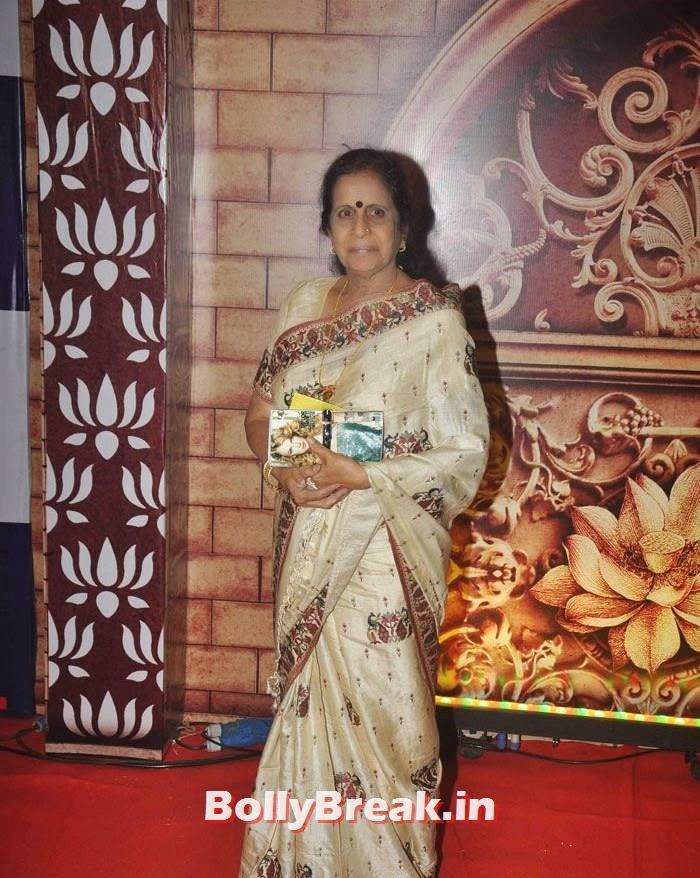 Usha Nadkarni, Zee Rishtey Awards 2014 Photo Gallery