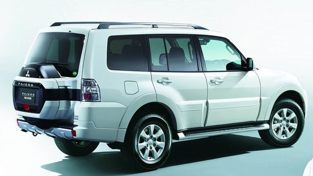 Mitsubishi Pajero reaches the end of the journey - the farewell version 2019