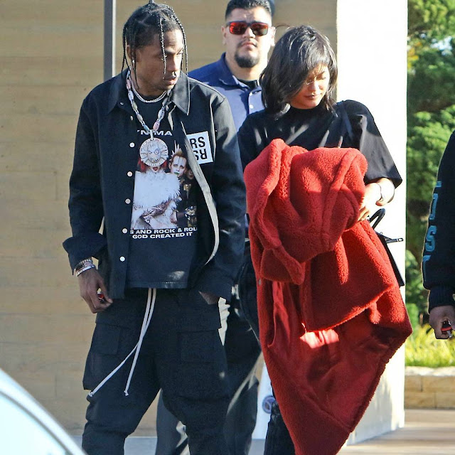 Travis Scott Gifts Kylie Jenner $1.4M As A Push Present