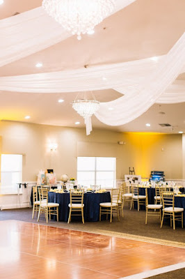 reception space and decor