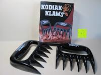 Erfahrungsbericht: Fleisch Gabel, Grillfete Austattung, Fleisch Kralle, Reisswolf, Salat Gabel, BBQ, Kodiak Klaws