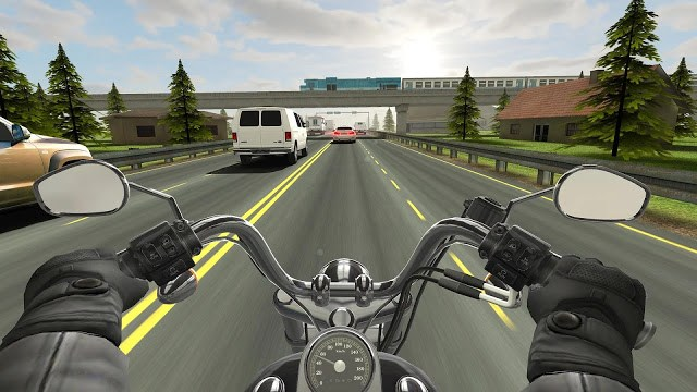 Traffic Rider Mega MOD Screenshot 2