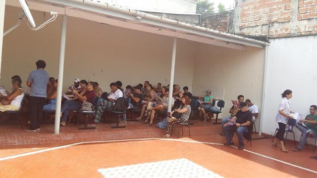 Professores participam de atos contra reforma da previdência e indicativo de greve