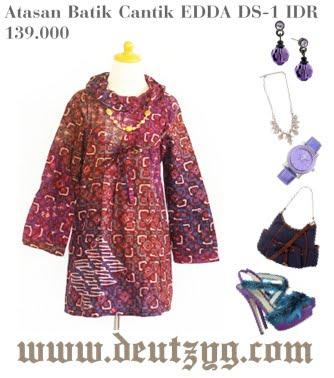 Butik Batik Line Batik Maxi Dress Ko Baju Batik Line Baju