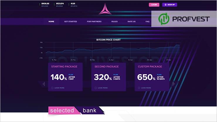 SelectedBank обзор и отзывы HYIP-проекта