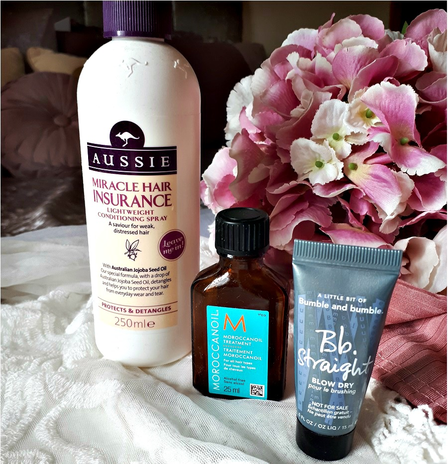 Aussie Miracle Hair Insurance Review, Morrocan Oil Review, Bumble and Bumble review, The Style Guide Blog