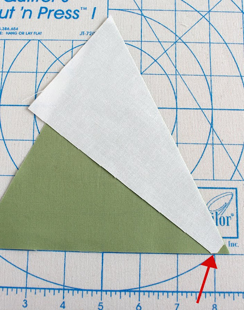 Pinwheel block tutorial using Tri-Recs rulers