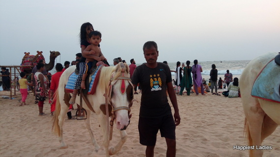 things to do in malpe beach horse ride