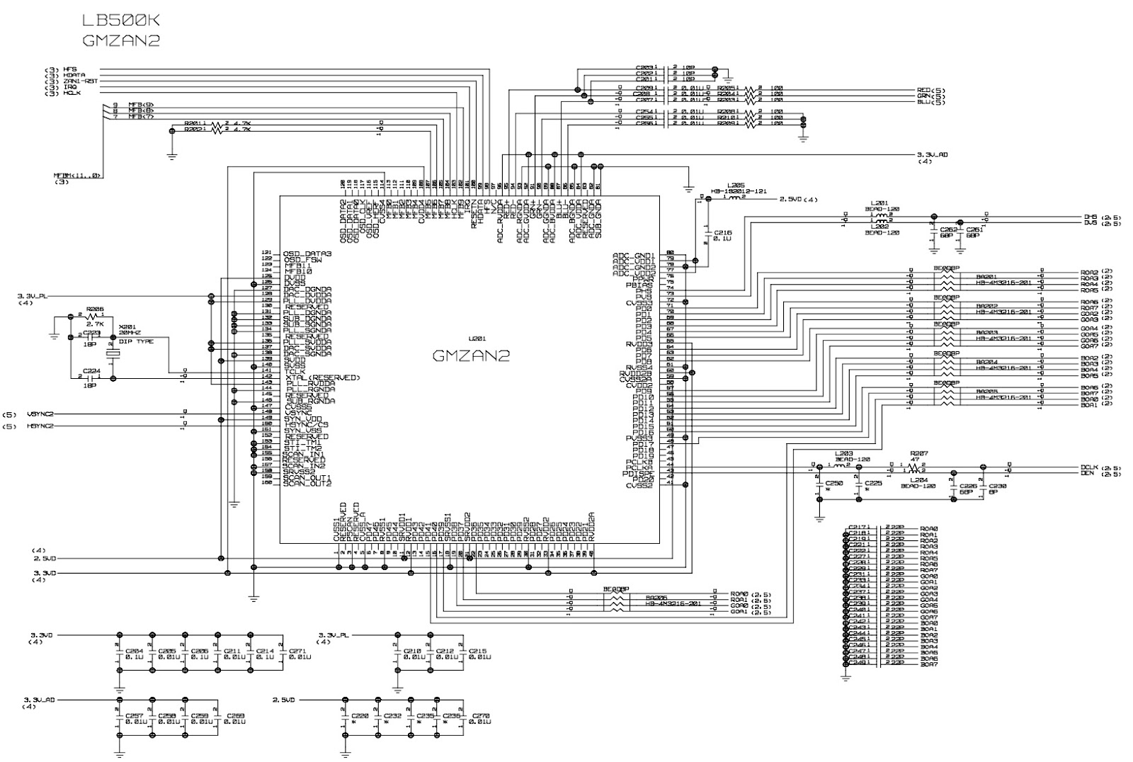 fig 2 lg flatron l1510sf 15 inch lcd monitor schematic (circuit battery monitor circuit diagram at readyjetset.co