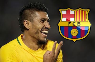 Neymar Beri Ucapan Selamat Kepada Paulinho