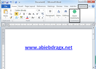 Cara Install Add-on Grammarly di Browser, Windows, MS. Word dan Android dengan mudah