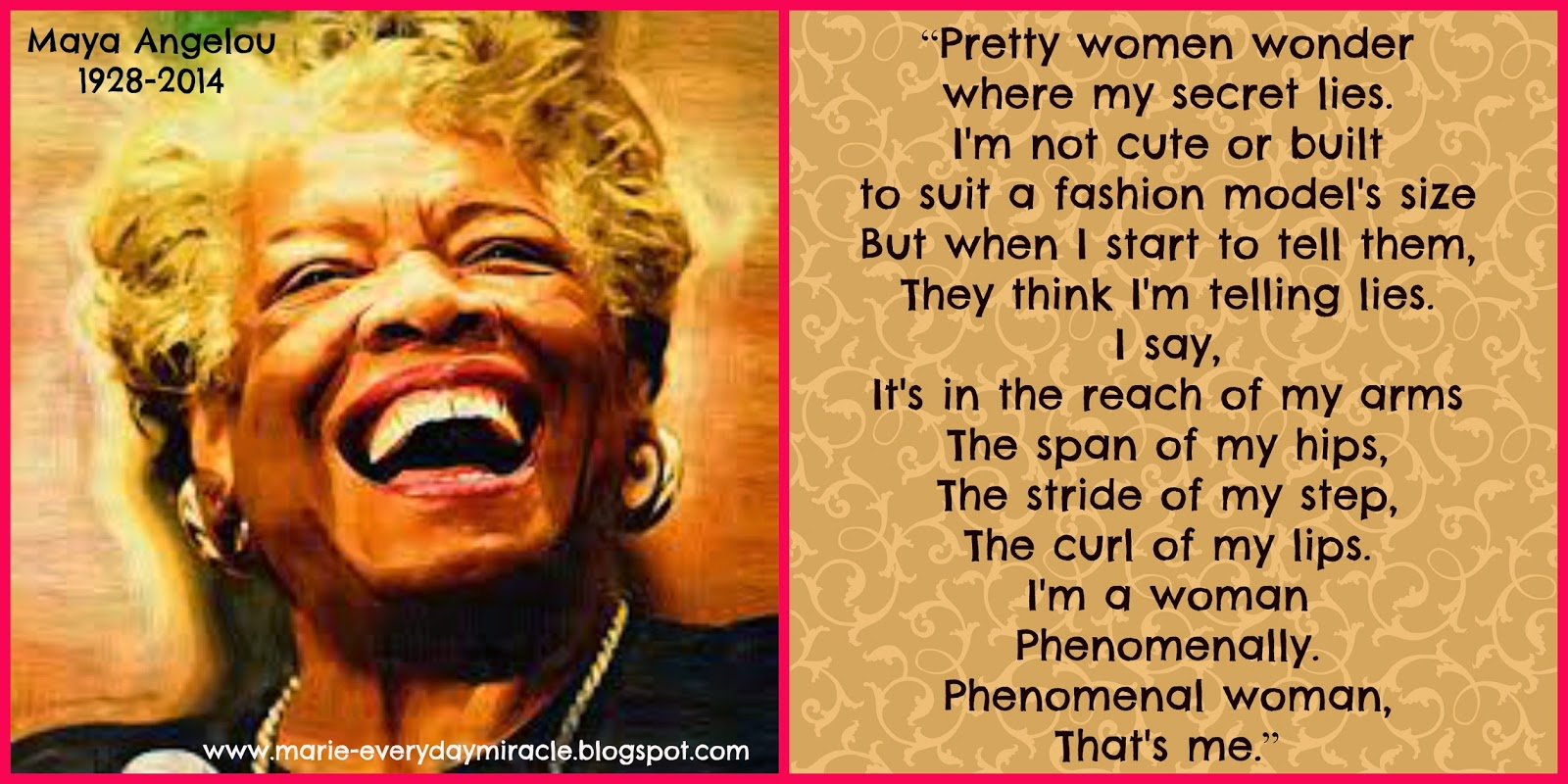 Every Day Is A Miracle Remembering Maya Angelou
