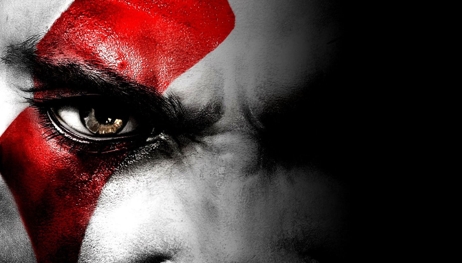 Kratos Eyes God Of War Wallpapers Wallpapers Ninja