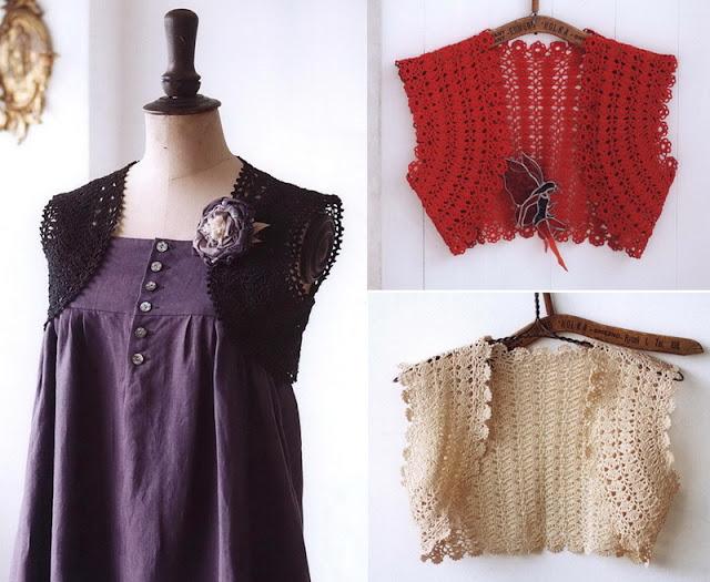 Crochet Bolero beautiful edges