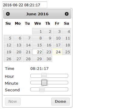 How to integrate the Jquery Datetimepicker in HTML