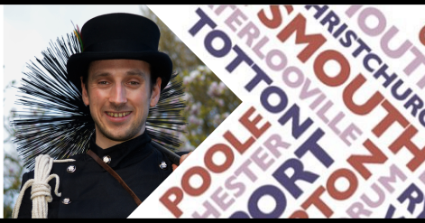 Live on BBC Radio Solent - Dorset chimney sweep - Jim Chim-in-ey