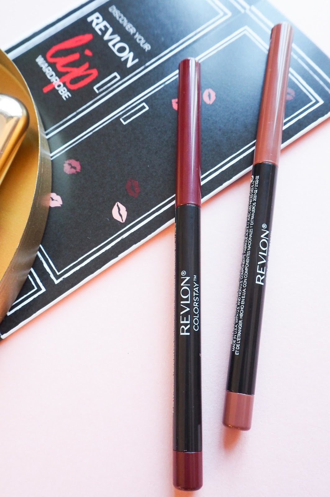 Revlon Colourstay Lipliner in Nude and Plum