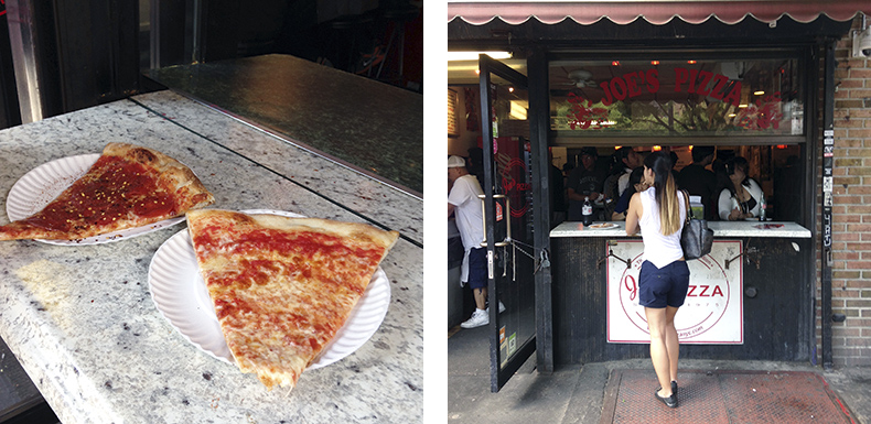 Euriental | fashion & luxury travel | New York, Joe's Pizza