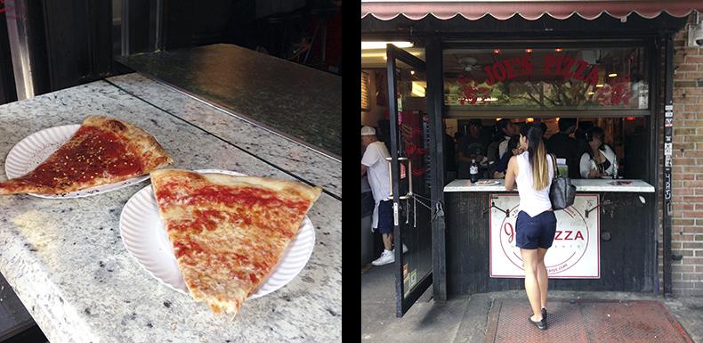 Euriental | fashion & luxury travel | New York, Joe's Pizza