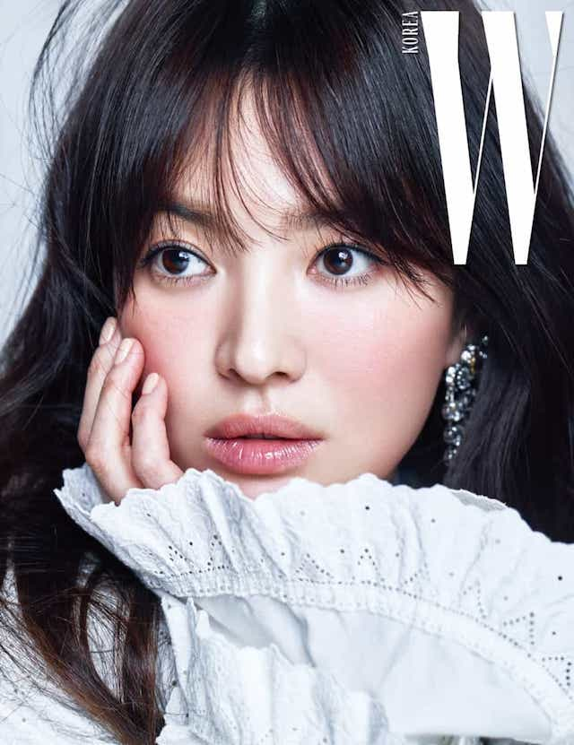 Eye Candy : Song Hye Kyo & Yoo Ah In for W | rolala loves
