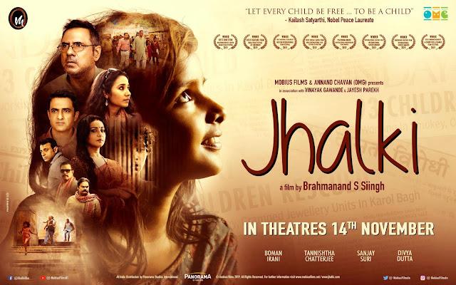 Jhalki, Poster