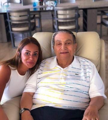 أحدث صورة للرئيس حسني مبارك, علاء مبارك يعلق,