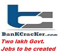 Two lakh Government jobs Central Govt, two lakh aspirants for jobs in various govt. departments, two lakh govt. jobs in India, new government jobs in India, govt. jobs, syllabus of SSC Combined Graduate level exam, govt. jobs in India, SSC Combined Higher Secondary exams