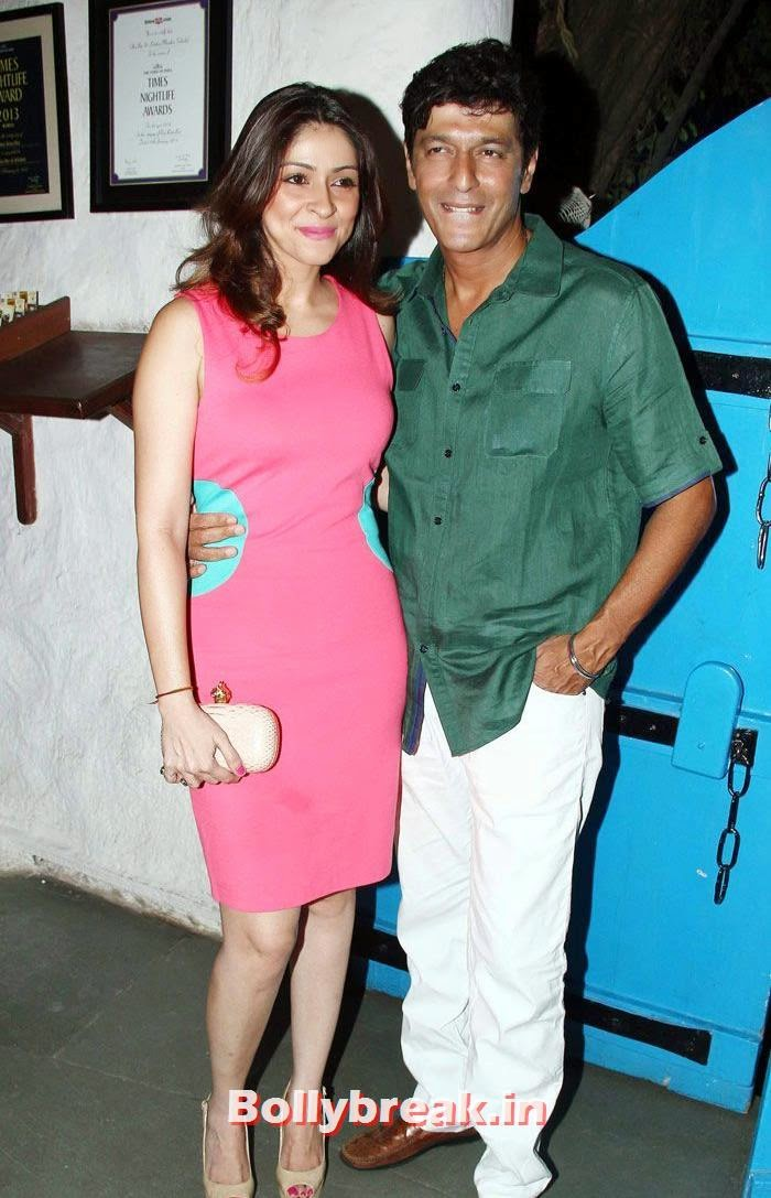 Bhavna Pandey, Chunky Pandey, Heropanti Success Party