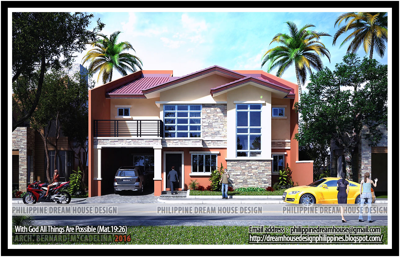 Philippine dream house design for 2 storey house design
