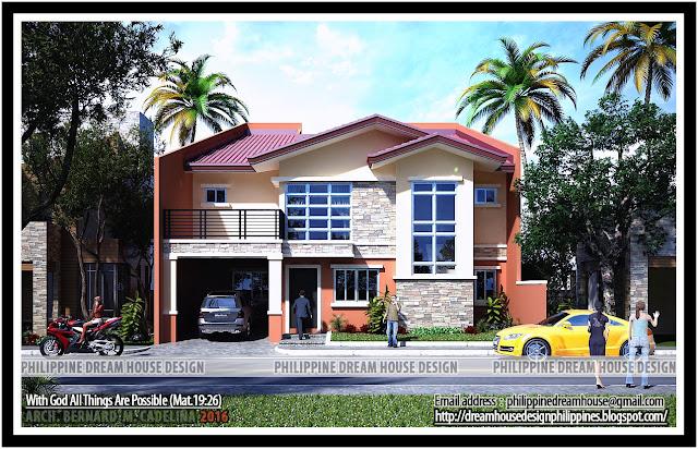 Philippine dream house design for 2nd floor terrace design