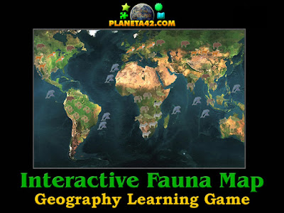 World Fauna Map Explorer