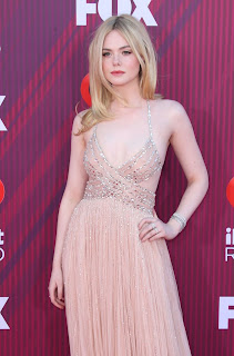 Elle Fanning At 2019 iHeart Radio Music Awards in Los Angeles