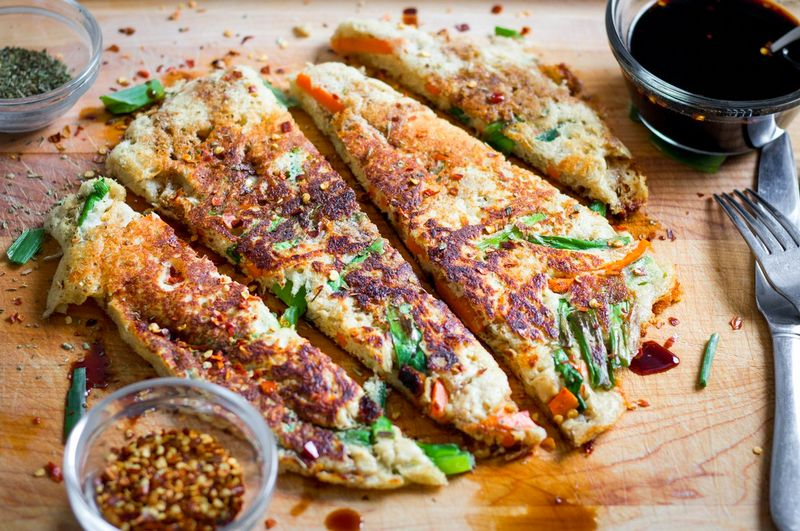 Pajeon atau Pancake Protein Korea (flapjacked.com)