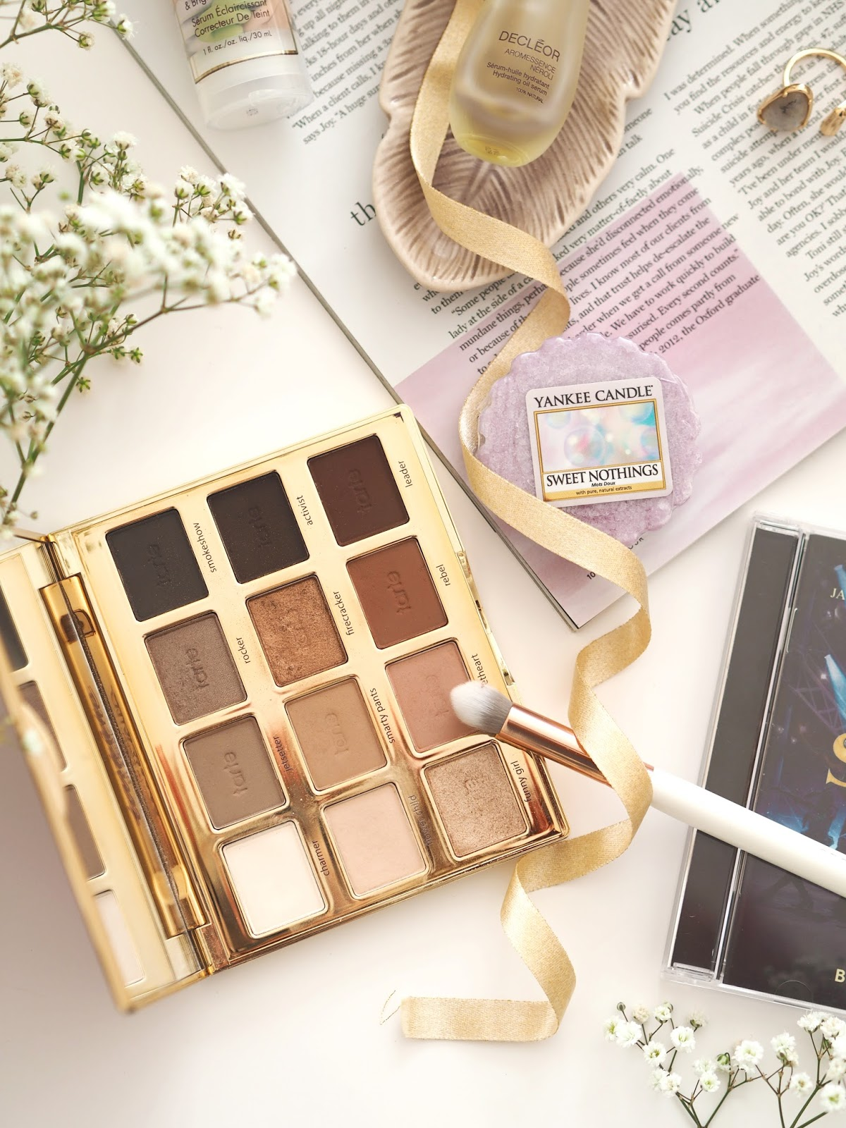 Loves List: February, Katie Kirk Loves, UK Blogger, make up blogger, hugh jackman, a million dreams, skincare blogger, tarte cosmetics, the greatest showman soundtrack, yankee candle, sweet nothings, ideal of sweden phone case, discount code