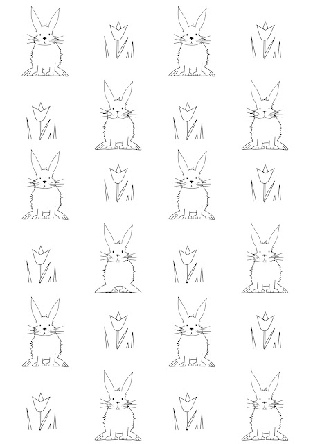 Free printable easter coloring page - Ausmalseite - freebie