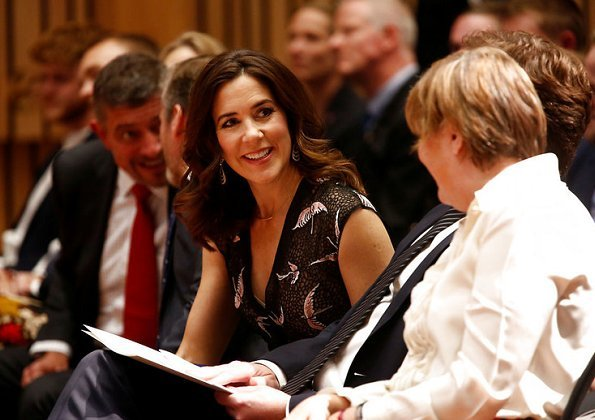 Crown Princess Mary attended Danish Culture presentation held at the Nordic Museum, which aims to create better conditions for Danish art and culture
