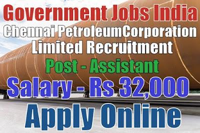 Chennai Petroleum Corporation Limited CPCL Recruitment 2017