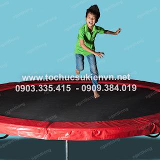 Cho thue nha nhun san nhun lo xo trampoline