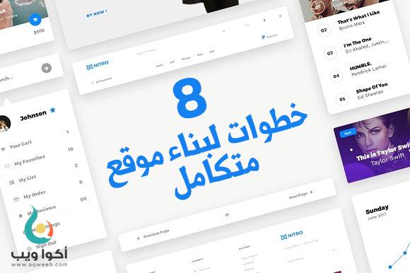 إليك المسار الصحيح لصناعة موقع : 8 خطوات عليك إتباعها جيدا