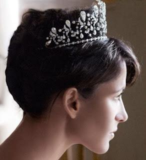 bourbon parma tiara chaumet princess hedwige diamond fuchsia Sophie Marceau