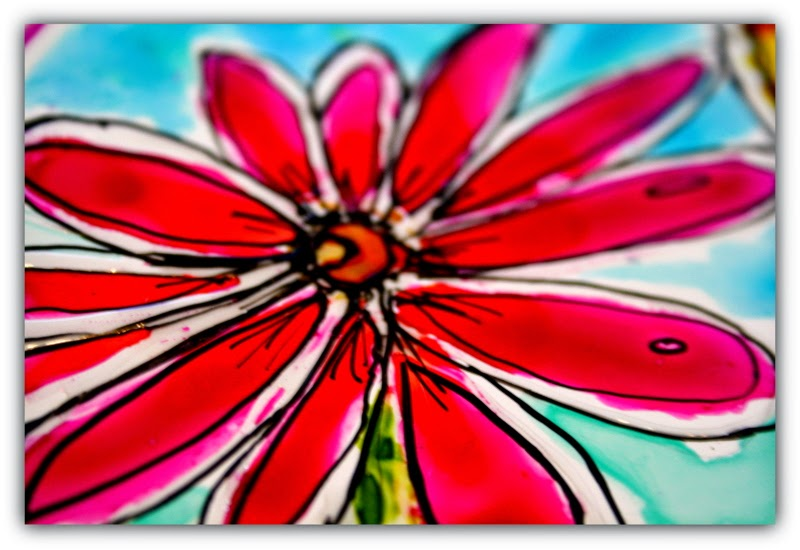 twinkling h20 flower painting by jodi ohl