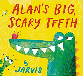 Alan's Big Scary Teeth picture book