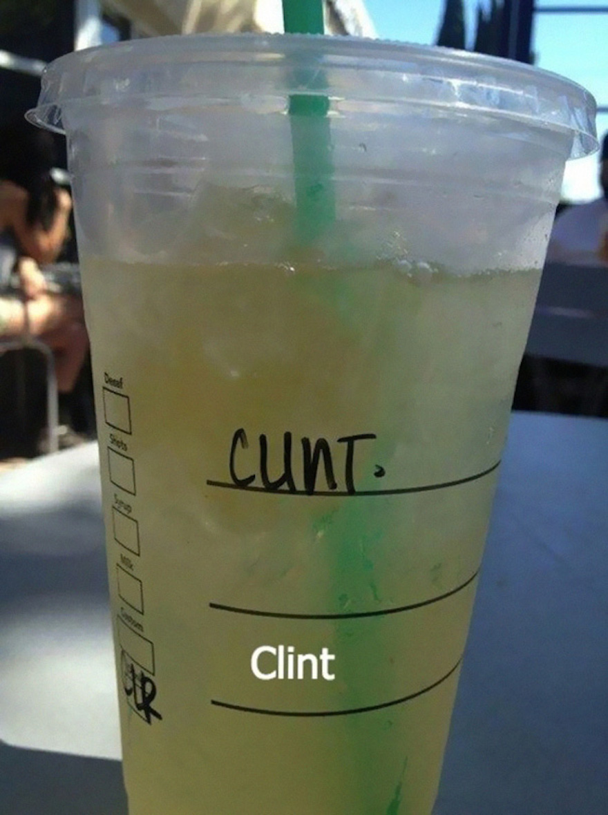 16 Times Bad Letter Spacing Made All The Difference - Sorry Clint, The Barista Gave You A New Name Today