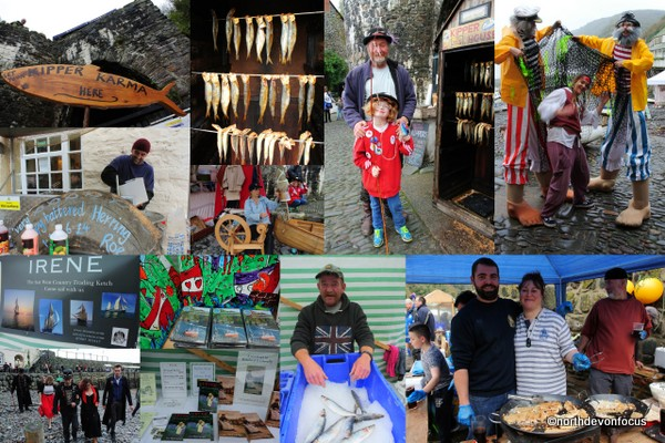 Clovelly Herring Festival - Photos copyright Pat Adams North Devon Focus (All rights reserved)