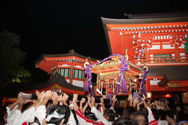 Myoken Taisai (Summer Festival), Chiba City, Chiba Pref.