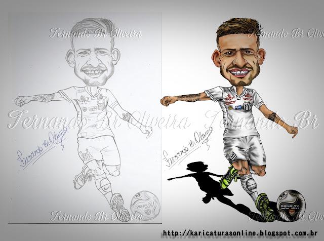 Esboço e caricatura  Lucas Lima Santos 2016
