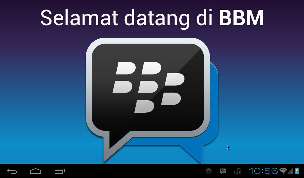 Install BBM di PC / Netbook / Laptop dengan Android-x86
