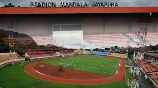 Bukan Serui, Persib Bandung Pilih Stadion Mandala Jayapura untuk Laga Kandang